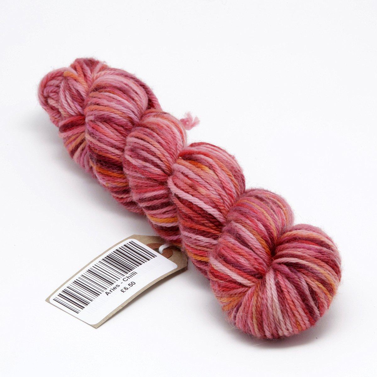 Hand Dyed Merino DK yarn