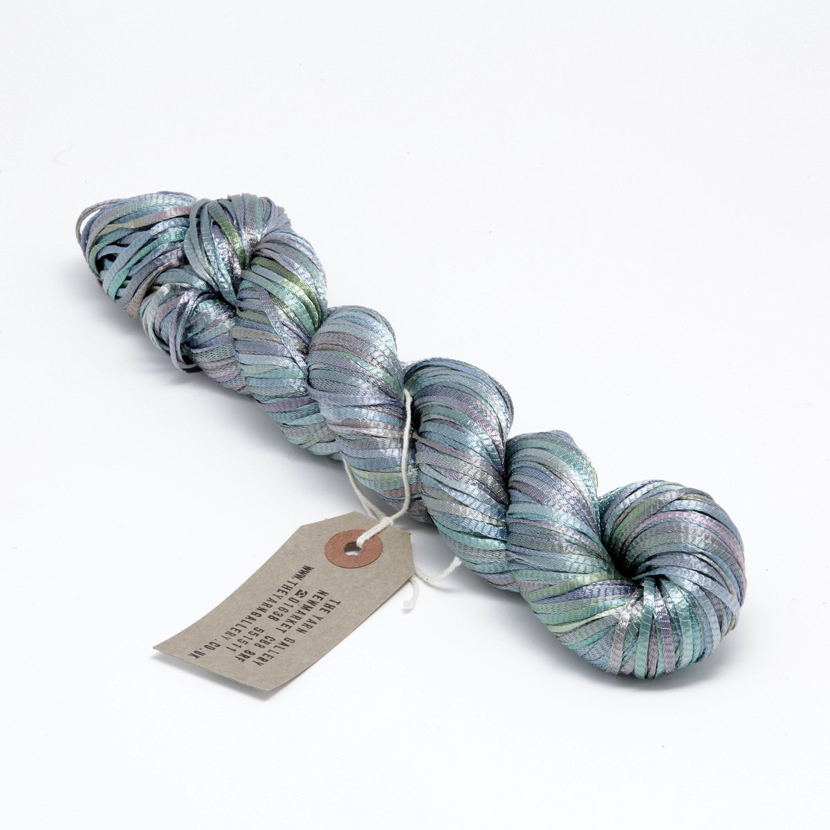 Hand Dyed Ribbon Yarn