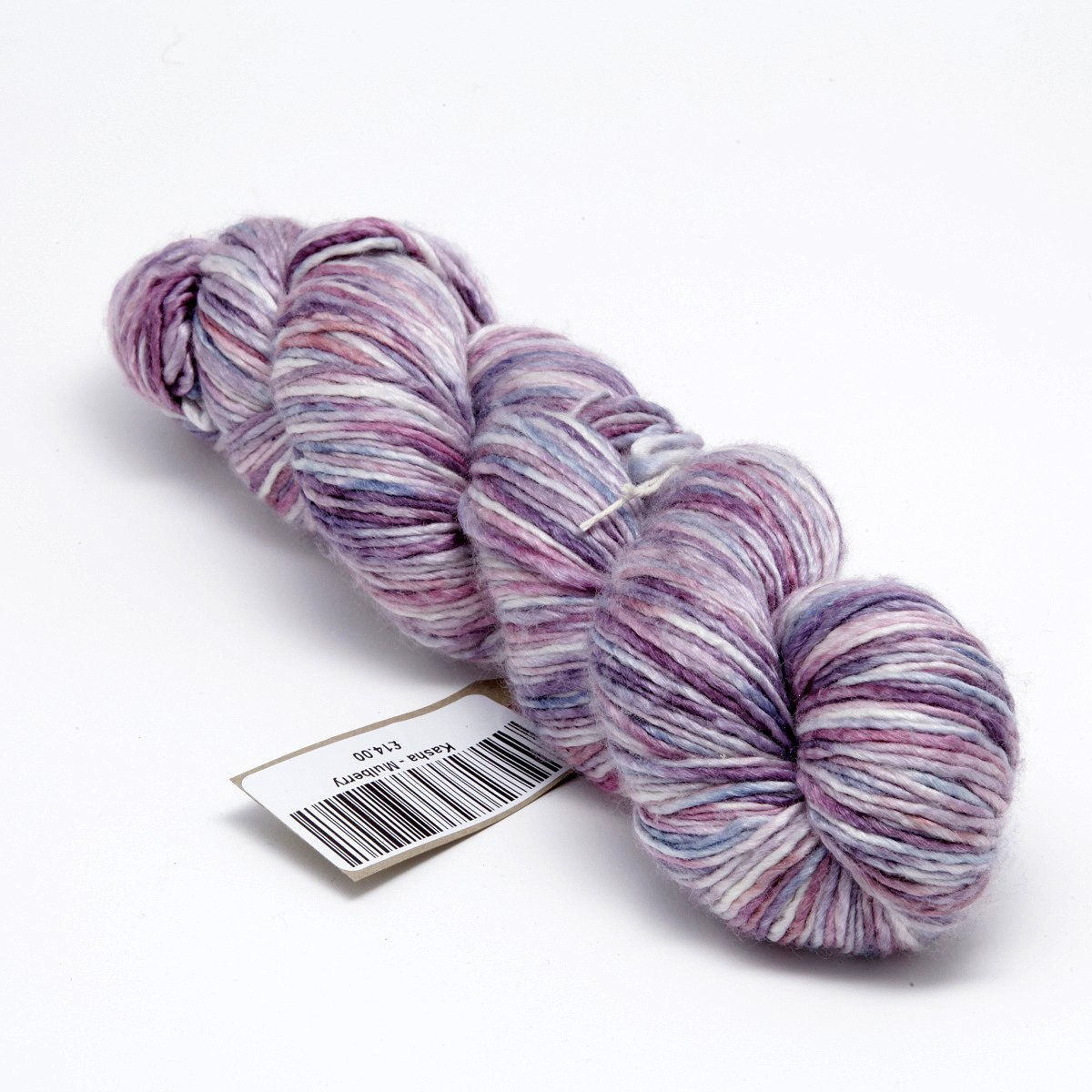 Hand dyed silk and merino dk knitting yarn