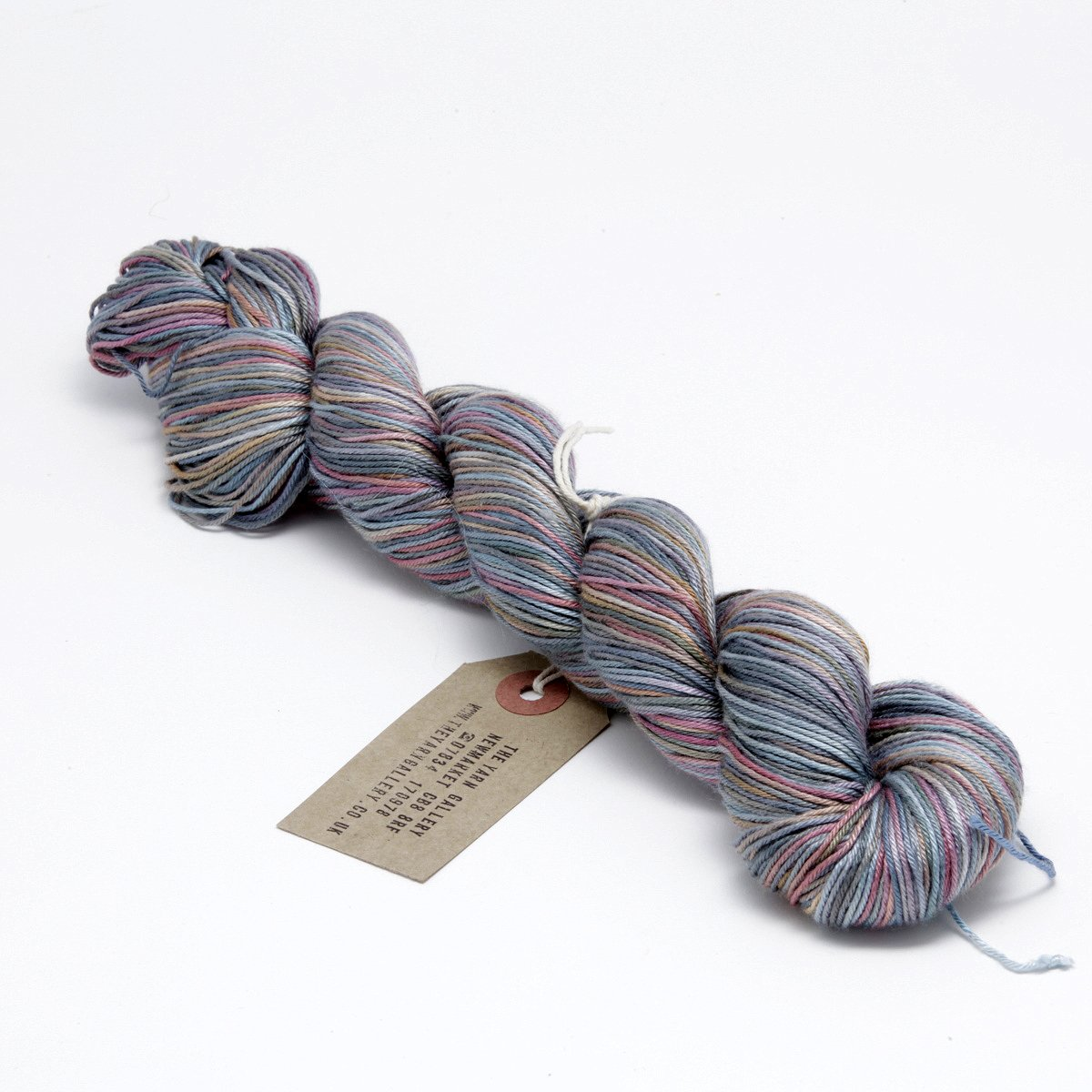 Hand Dyed Pure Silk Knitting Yarn