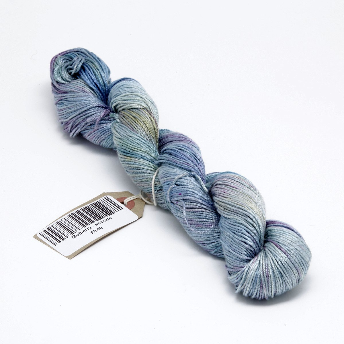 Hand Dyed Pure Silk 4 ply Knitting Yarn