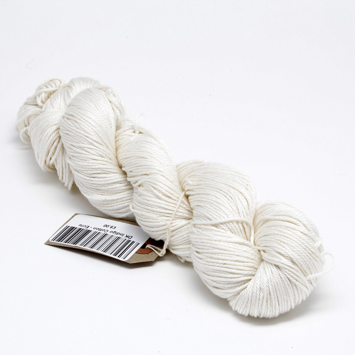 Undyed Pima Cotton yarn DK