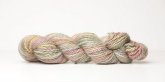 Alpaca Cloud. Hand dyed alpaca yarn
