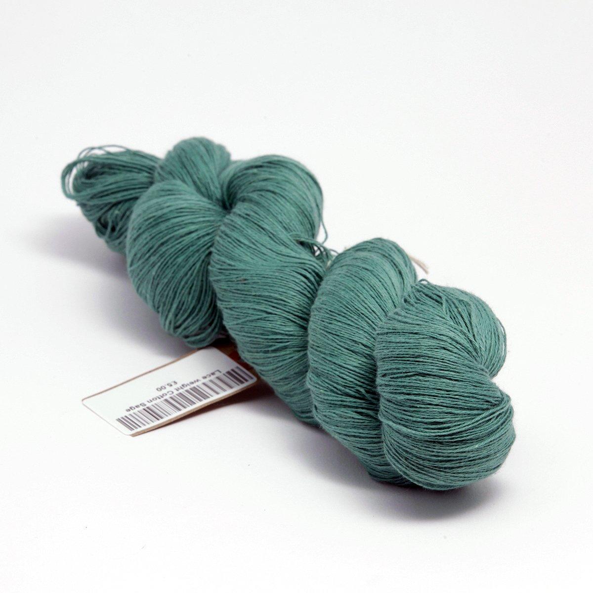 Lace weight cotton knitting yarn