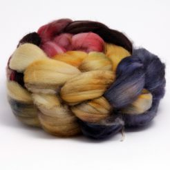 Hand Dyed Merino Fibre for Spinning
