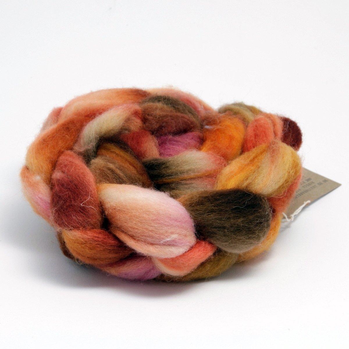 Hand Dyed Shetland Fibre