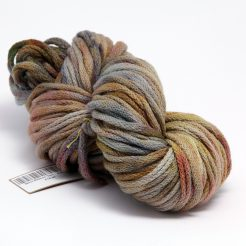 Hand Dyed Wool Ribbon Yarn for Knitting or Crochet