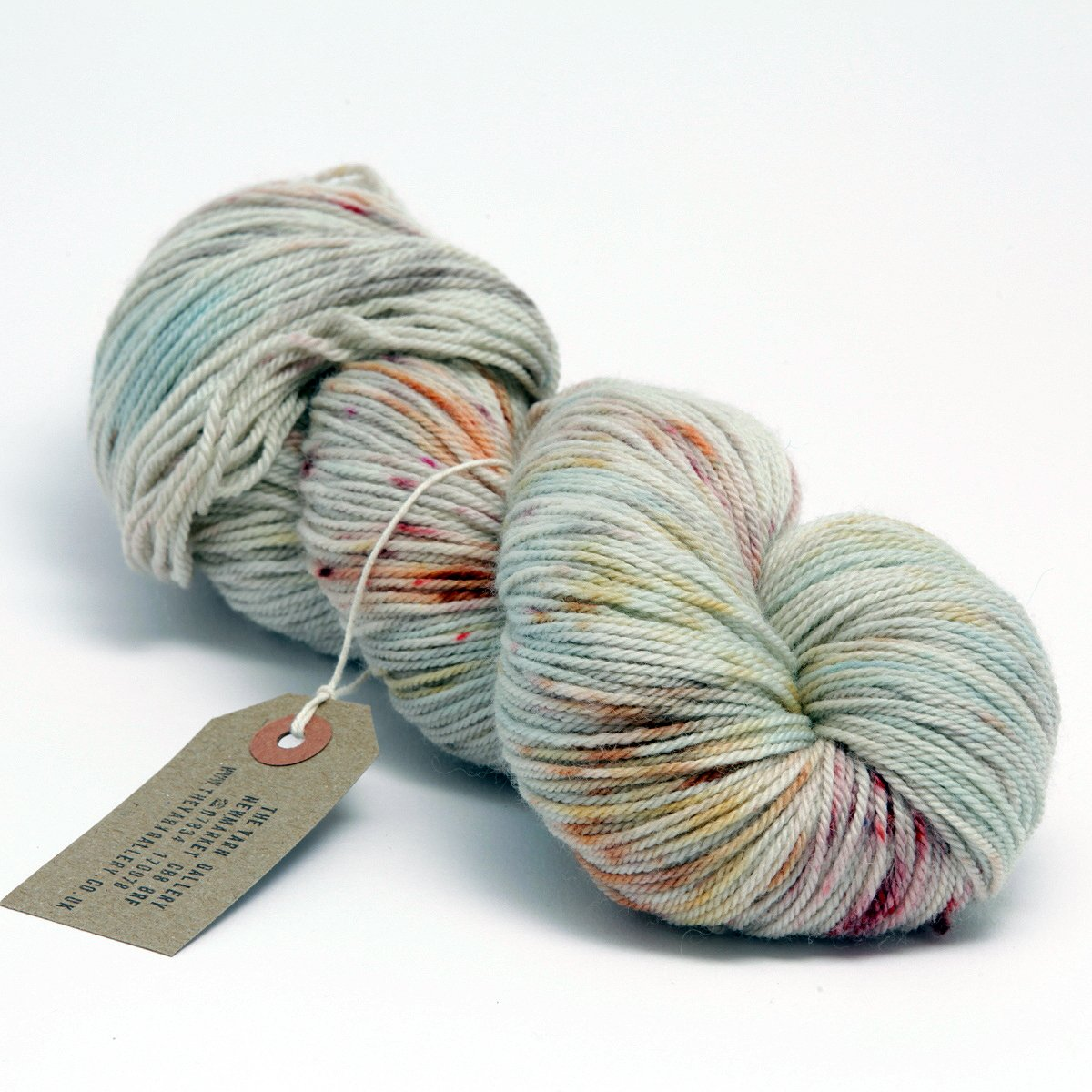 Hand Dyed Sock Yarn - Speckle Dyed Merino Cashmere