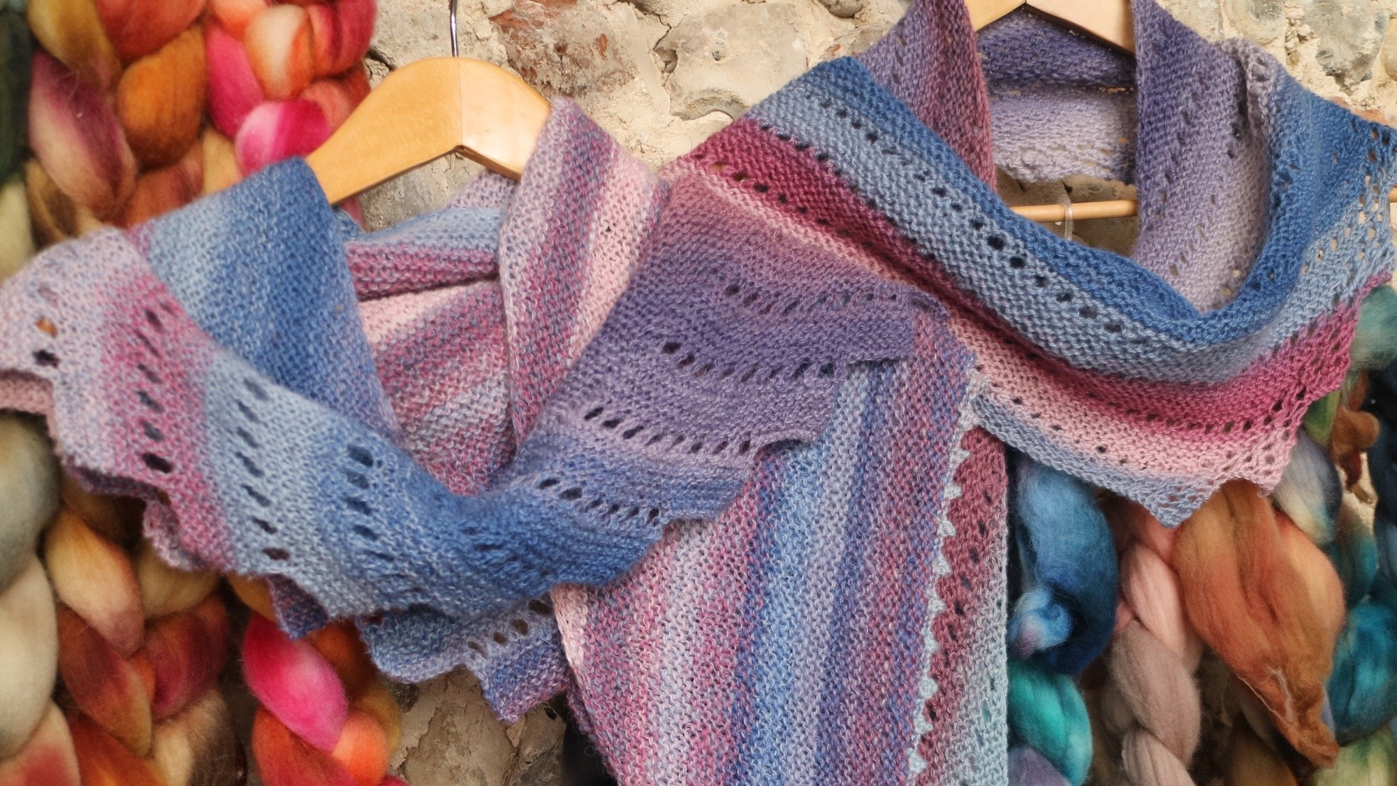 Hand Knitting Yarn Design : Hand spun yarn knitting patterns free lace shawls