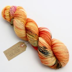 Speckle Dyed Sock Yarn.